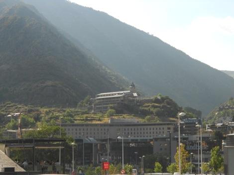 Prime location for a hospital in Andorra La Vella