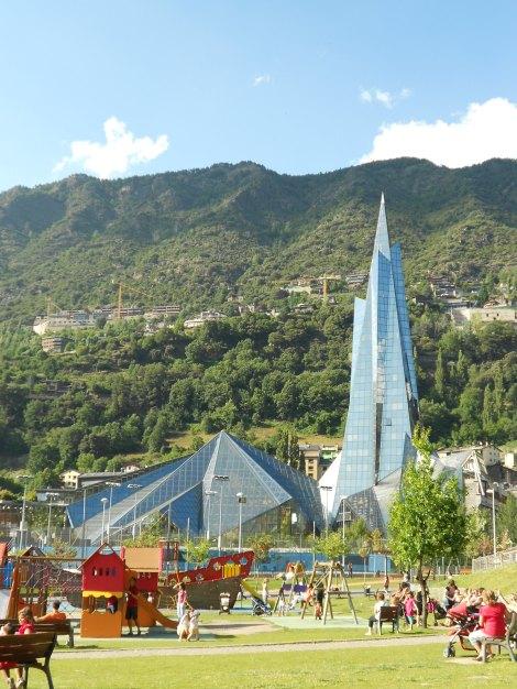 Plenty for the family - the Caldea Thermal Spa in Andorra La Vella